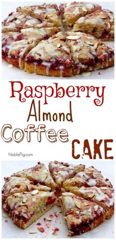Video + Recipe: SO EASY! The perfect brunch addition, this Raspberry Almond Coffee Cake will have everyone looking for a second slice. Breakfast Cake, Breakfast Dishes, Breakfast Recipes, Baking Recipes, Cake Recipes, Dessert Recipes, Raspberry Recipes, Brunch Recipes, The Best
