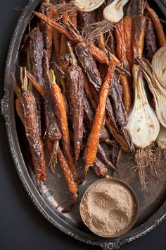 Roasted Root Vegetables with Tangy Indian Masala