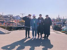 We caught two octopusses ㅎ_ㅎ Sandeul, Lee Hyun, Jin, Suga
