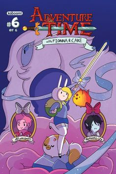 Adventure Time: Fionna and Cake Comic Cover #6A