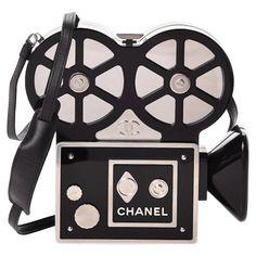 Vintage Chanel Bag, Vintage Clutch, Trendy Handbags, Fashion Handbags, Chanel Runway, Chanel News, Coco Chanel, Unique Purses, Designer Shoulder Bags