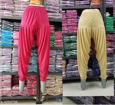 Ethnic Bottomwear - Patiala Pants  Trendy Stylish Cotton Women Patiala Pants Combo Fabric: Viscose Waist Size: XL - 34 in  XXL - 36 in Length:  XL - Up To 40 in XXL - Up To 41 in Type: Stitched Description: It Has 2 Piece Of Women's Patiala Pant Pattern: Solid Country of Origin: India Sizes Available: 32, 34, 36, 38, 40, 42   Catalog Rating: ★3.9 (249)  Catalog Name: Trendy Stylish Cotton Women Patiala Pants Combo CatalogID_599535 C74-SC1018 Code: 423-4200738-957