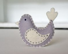 So cute - could make a lovely tree ornament.