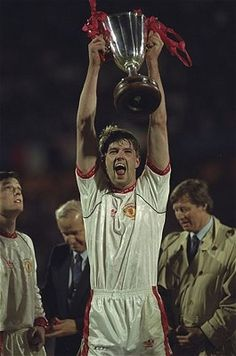Sir Alex Ferguson's first European trophy, game one of his five most important   in 25 years at Old Trafford.