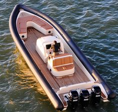 Yellowfin - Designed to appeal to three key markets, Yellowfin has combined their proprietary hull design with a rib platform making it unlike anything else on the market today.  First, the perfect chase/support vessel for race teams, second as the consummate mega-yacht tender and finally as the ideal watercraft for military/law enforcement