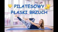 💛 Pilatesowy 💛 Płaski BRZUCH - bez napinania szyi Zumba, At Home Workouts, Pilates, Fitness Inspiration, Detox, Abs, Health Fitness, Exercise, Youtube