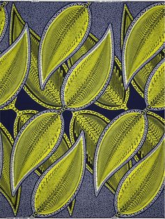 African cloth using the Dutch Wax Method of printing.  Usually of very high quality.  A dream to sew.