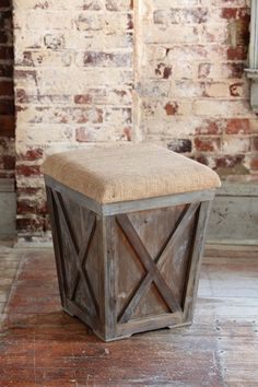 Town and Country Stool