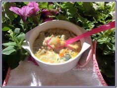 Lecker mit Geri: Dinkel-Suppe mit Gemüse - Супа с лимец и зеленчуци