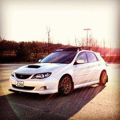 Subaru Impreza. Again... Awesome colors!!