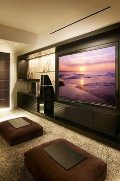 Fantastic Home Theater Room Décor
