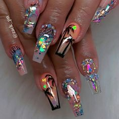 how to make your nails stylish and trendy in Spring.We collected about 35 gel nail art design for you, if you love gel nails. how to make your nails stylish and trendy in Spring.We collected about 35 gel nail art design for you, if you love gel nails. Cute Acrylic Nail Designs, Best Acrylic Nails, Summer Acrylic Nails, Gel Nail Designs, Summer Nails, Nails Design, Beautiful Nail Art, Gorgeous Nails, Pretty Nails