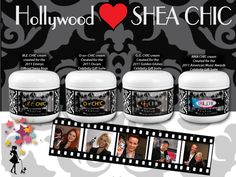 SHEA CHIC has been featured at the Celebrity Gifting Suites in celebration of the News &