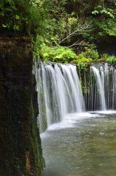 Shiraito Falls, Karuizawa, Nagano, Japan   by akymsg on 500px
