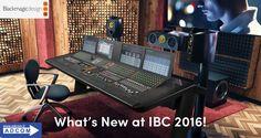 Blackmagic Design, all'IBC 2016,  annuncia due nuove acquisizioni: Ultimatte e Fairlight. Blackmagic Design presenta inoltre: Teranex AV,  HyperDeck Studio 12G, New Video Assist 2.2 Update e  DaVinci Resolve 12.5.2