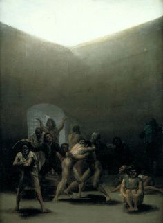Francisco de Goya y Lucientes - Witches' Sabbath (The Great He-Goat) - Francisco Goya - Wikipedia, the free encyclopedia Spanish Painters, Spanish Artists, Art Database, Aragon, Old Master, Metropolitan Museum, Les Oeuvres, Hieronymus Bosch, Art History