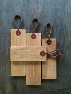 """White Oak Cutting Boards -  5"""" Wide"""
