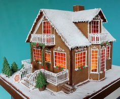 domek-z-piernika-, gingerbread house