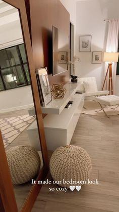 Decor Home Living Room, Cozy Living Rooms, Home Decor Kitchen, Simple Bedroom Design, Master Bedroom Design, Cozy Bedroom, Bedroom Ideas, Bedroom Decor, Target Home Decor