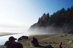 moonstone beach. my favorite place in Humboldt- the cave to the right..it's where our engagement photos were taken.