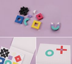 You can make the whole alphabet with only 7pieces. Alpha Bit (alphabet wooden block)