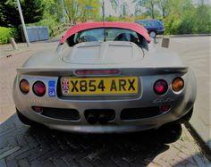 Lotus Elise backside