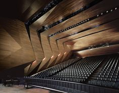 Festival Hall in Erl / Delugan Meissl Associated Architects via Archdaily