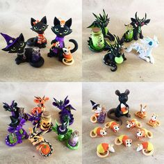 Here is a quick preview of the Halloween sale that I have now postponed to Sunday Oct. 18th. Just not enough time to get everything in order today D: A few will be chosen for auction on ebay but th...