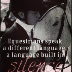 A language built in silence