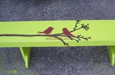 """my """"two is better"""" bench"""
