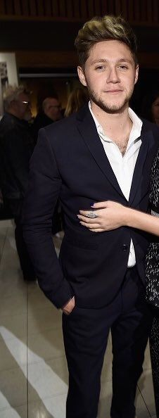 Niall last night at Capitol Records' 75th anniversary party