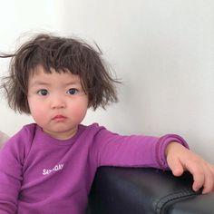 Cute Baby Meme, Cute Funny Babies, Funny Cute, Cute Kids, Cute Asian Babies, Korean Babies, Asian Kids, Cute Little Baby, Little Babies