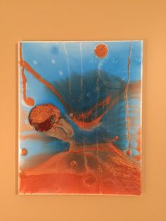 """My handmade """"soaring"""" resin and polyester  SOLD"""