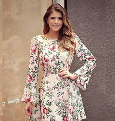 Image may contain: 2 people Casual Dresses, Short Dresses, Fashion Dresses, Summer Dresses, Pretty Dresses, Beautiful Dresses, Conservative Fashion, Robes Vintage, Sweet Dress