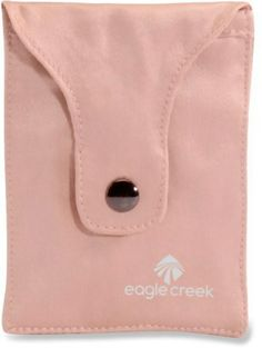 Eagle Creek Silk Undercover Bra Stash hidden hide Small Pocket Wallet Cards for sale online Eagle Creek, Her Packing List, Silk Material, Travel Jewelry, Undercover, Handbag Accessories, Travel Accessories, Travel Style, Pouch