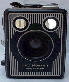 My first camerawas a Brownie!