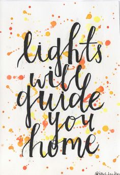 Lights will Guide You Home Postcard via Jillehdoodles. Click on the image to see more!