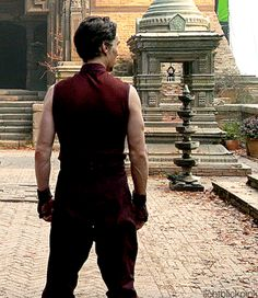 Is it bad that I can recognize Benedict from the back~ even when I *haven't* seen the movie?!
