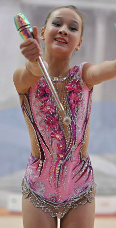 RG leotard close-up (photo by Andrey Demin)