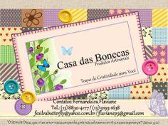 Logotipo Casa das bonecas