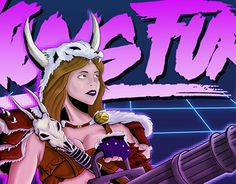 "Check out new work on my @Behance portfolio: ""kung fury vikinga"" http://on.be.net/1HBLK7G"