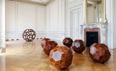 Ai Weiwei's new show at the Cycladic Art Museum in Athens features iconic pieces such as Divina Proportione, 2012, pictured here, as well as new works in response to the refugee crisis