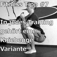 [Fitness Tipp #7] In jedes Training gehört eine Kniebeuge Variante – Beugen ist das Elexier des Lebens und eine der fundamentalsten Bewegungen die wir haben.