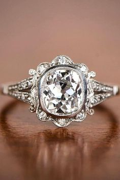 vintage inspired engagement rings 3