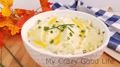 You can't go wrong with these delicious cauliflower mashed potatoes. It's great for 21 Day Fix as well as Weight Watchers. A tasty way to eat your veggies!