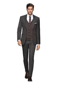hugo boss suit.