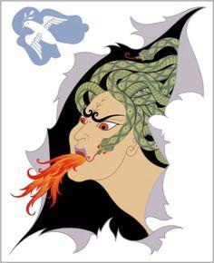 The Seven Deadly Sins, Anger Artist: Erte