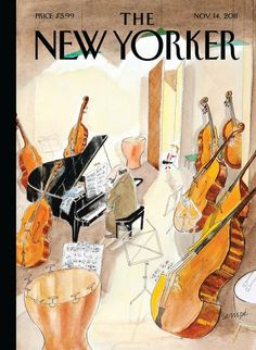"the new yorker nov 14, 2011 -  ""Different Scale"" by the fab J. J. Sempé"