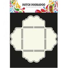 Dutch DooBaDoo Envelop Art Scallop 3 - 470.713.020