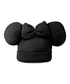 Black Minnie Beanie by Trumpette - so cute! $5.99